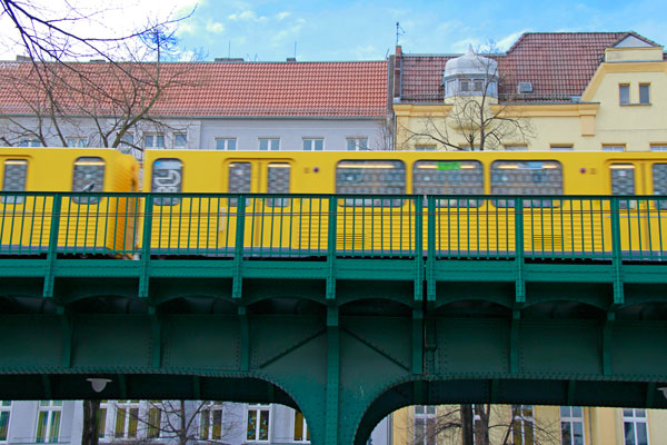 Metrô - Berlin - Fui e Vou Voltar - Alessandro Paiva