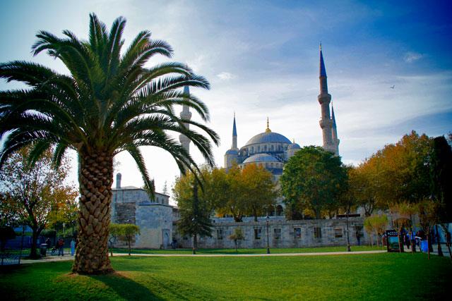 Mesquita de Sultanahmet, também conhecida como Mesquita Azul
