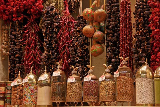 Especiarias no Bazar Egípcio