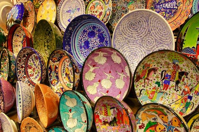 Cerâmicas no Bazar Egípcio