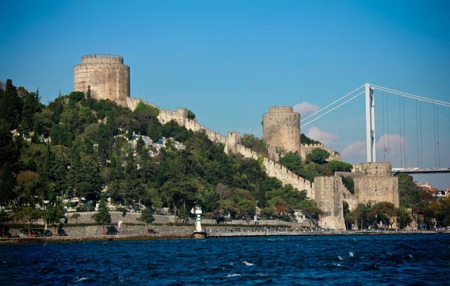 Fortaleza de Rumeli, no lado europeu de Istambul