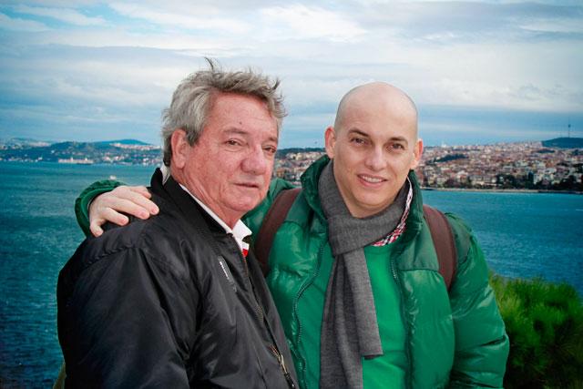 Meu pai e eu, no Topkapi