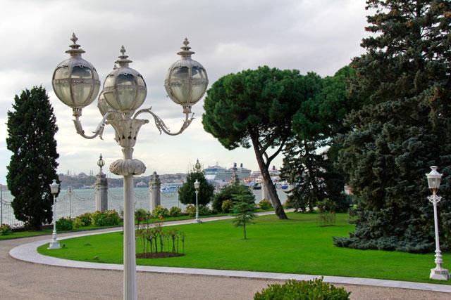 Jardim do Dolmabahçe