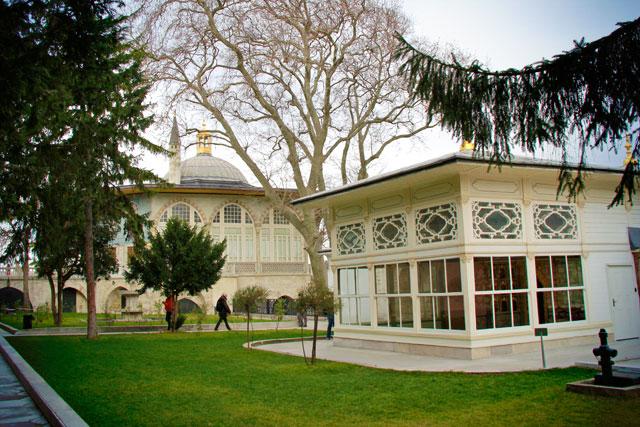 Sofa Köşku (quiosque do terraço), no Topkapı