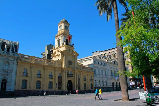 Museo Histórico Nacional, na Plaza de Armas