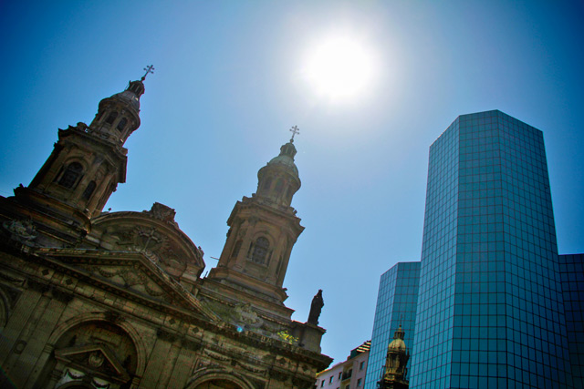 Catedral Metropolitana e Ed. Plaza de Armas