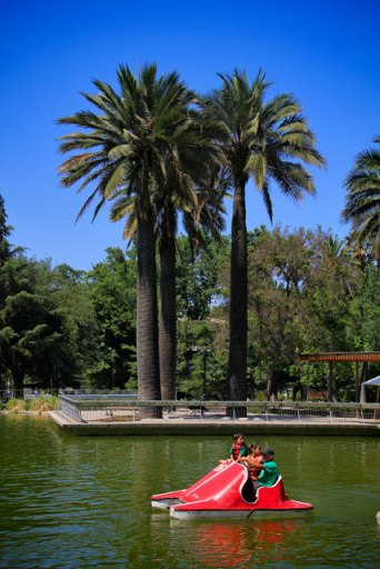 Parque Quinta Normal, no bairro Brasil