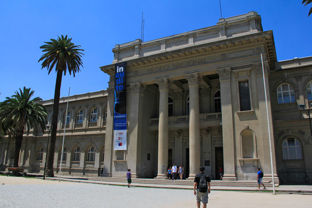 Museo de Historia Natural, no Parque Quinta Normal