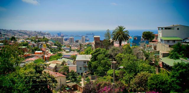 Valparaíso vista da La Sebastiana