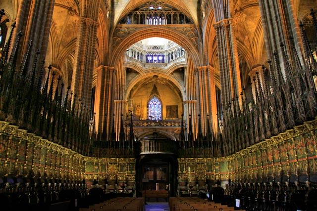 Coração da Catedral de Barcelona