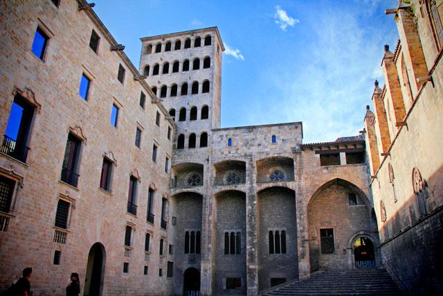 Museu d'Història de Barcelona, na Plaça del Rei