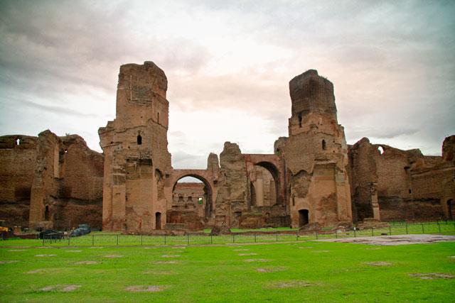 Ruínas das Termas de Caracalla