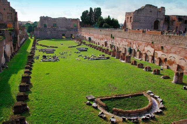 Hipódromo de Domiciano, no Palatino