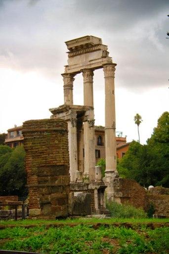 Tempio dei Càstori, no Fórum Romano