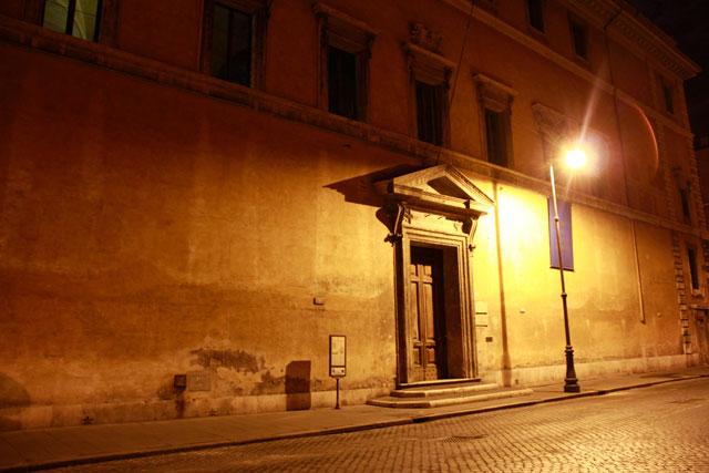 Corso del Rinascimento, próximo à Piazza Navona