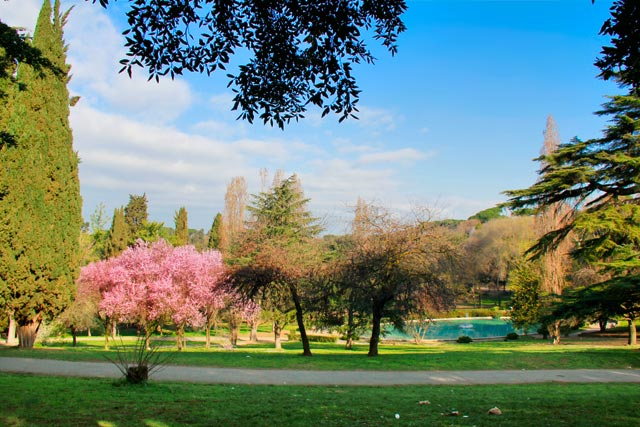 Jardim da Villa Borghese