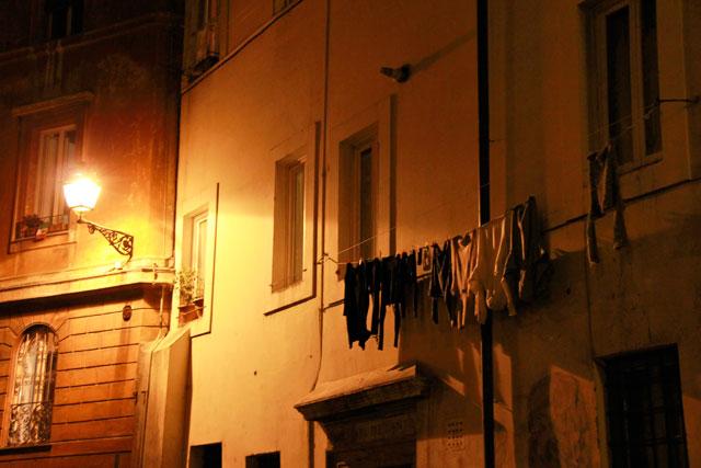 Fachada típicas de Trastevere