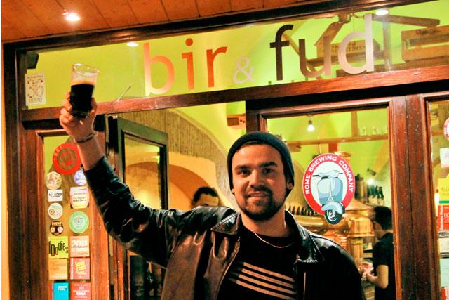 Cervejaria Bir & Fud, em Trastevere