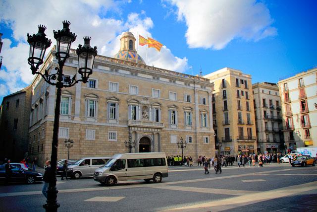 Palau de la Generalitat, na Plaça de Sant Jaume