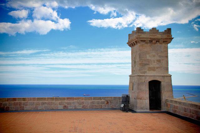 Terraço do Castell de Montjuïc