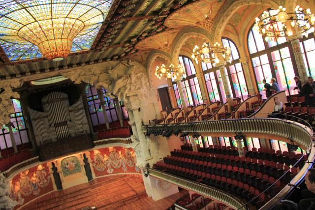 Claraboia do Palau de la Música Catalana