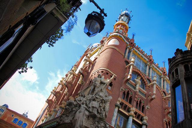 Fachada do Palau de la Música Catalana