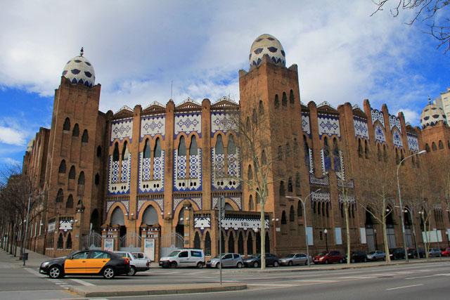 Arena de touradas La Monumental