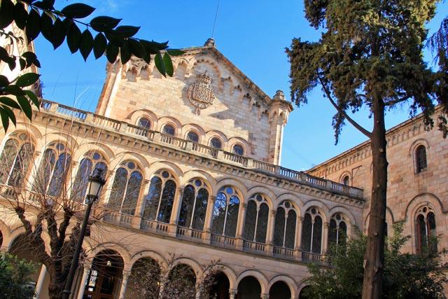 Edifício da Universitat de Barcelona