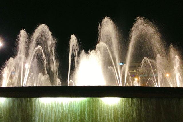 Fonte na Plaça de Catalunya