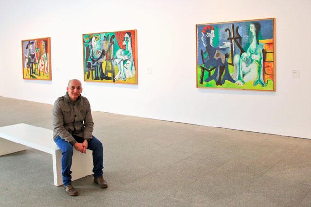 Série O Pintor e a Modelo, de Pablo Picasso, no Reina Sofia
