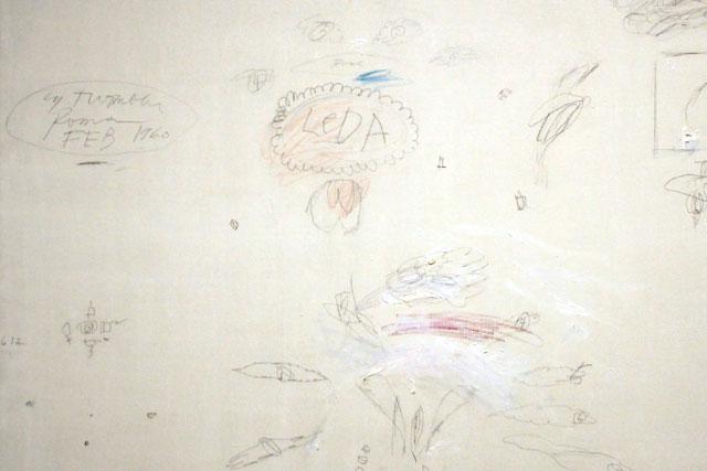 Obra sem título, de Cy Twombly, no Reina Sofia