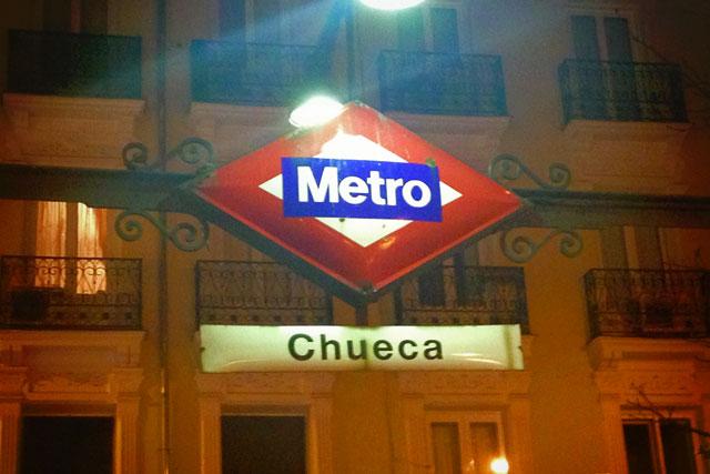 Estação de metrô Chueca