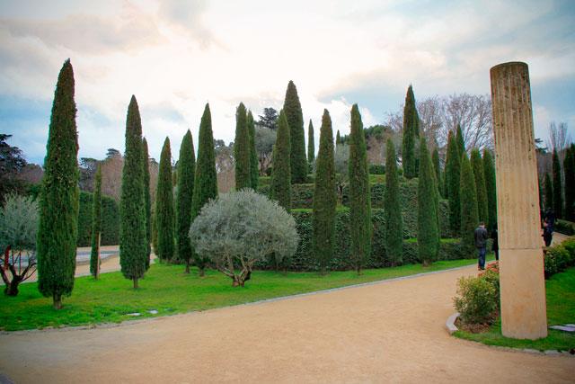 Bosque del Recuerdo, no Parque del Retiro