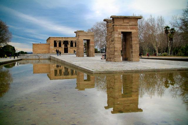 Templo de Debod, no Parque del Oeste