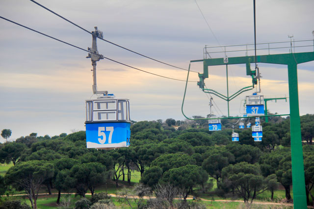 Teleférico de Madri