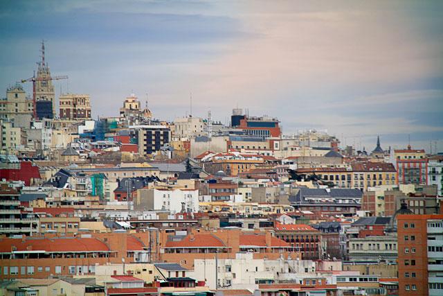 Madri vista do teleférico