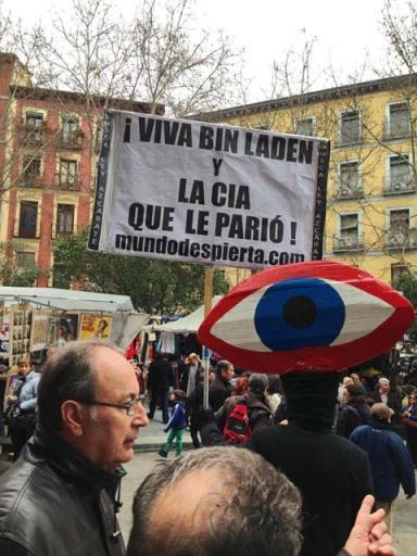 Manifestação no El Rastro
