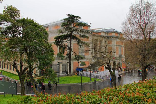 Museu do Prado (foto tirada dois dias depois)