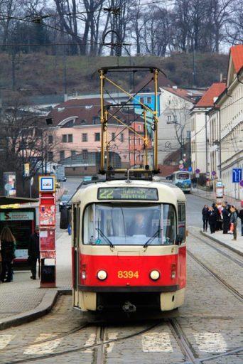 Rua Pod Bruskou, na Cidade Pequena.