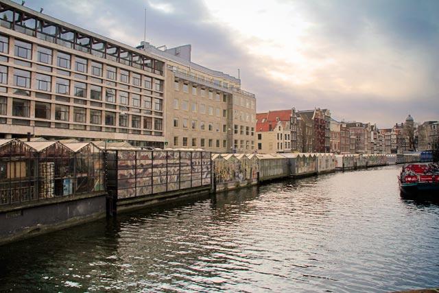 Bloemenmarkt, no canal Singel