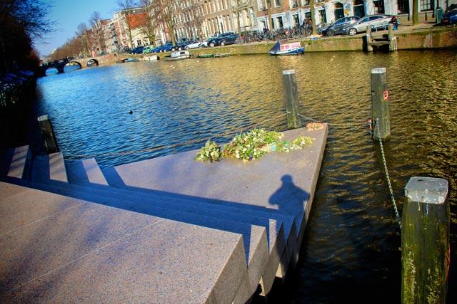Homomonument, no canal Keizersgracht