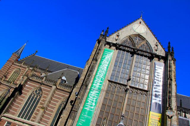 Nieuwe Kerk, na praça Dam