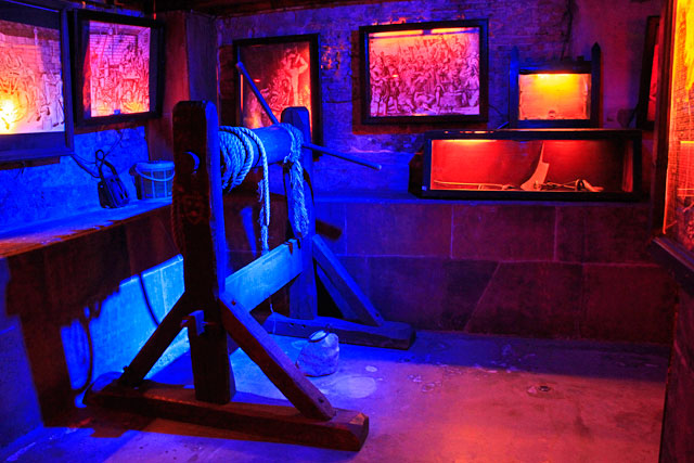 Museu de Instrumentos de Tortura Medieval, em Amsterdam