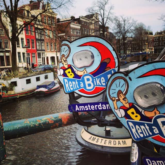 Anúncio da Damstraat Rent-a-Bike