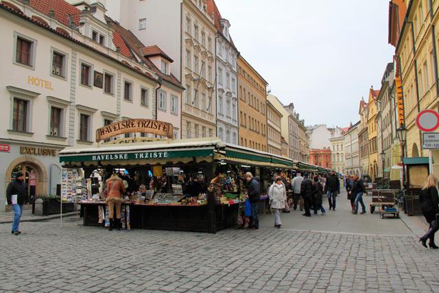 Feira Havelské tržiště, na Cidade Velha
