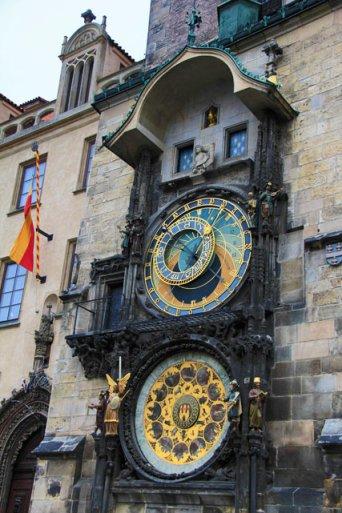 Relógio Astronômico, no prédio da prefeitura