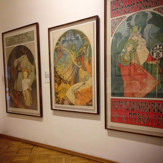 Exposição no Museu de Alphonse Mucha