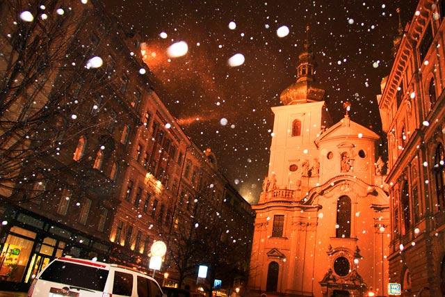 Igreja de São Galo (Kostel svatého Havla), na rua Havelská