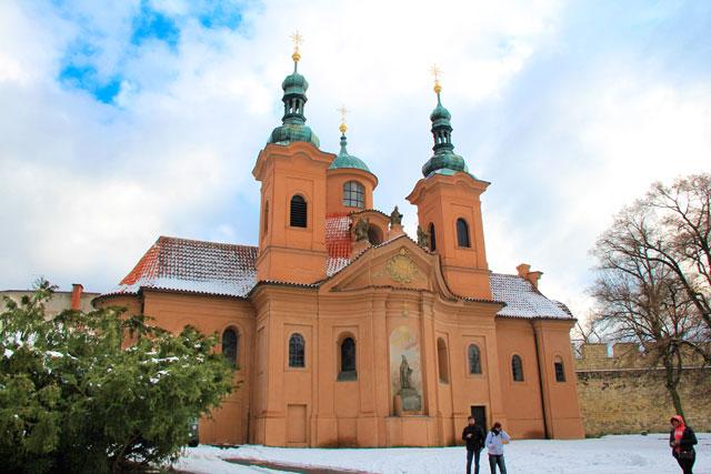 Catedral de São Lourenço (Kostel svatého Vavřince), em Petřín