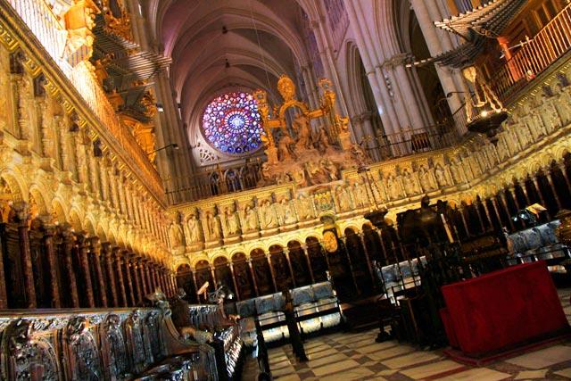 Coro da Catedral de Toledo